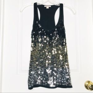 Forever Sequence Tank Top Sz Small